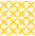 yellow french ornamental ceramic tile vector image vector image