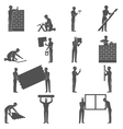 Builders People Set vector image vector image