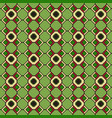 ethnic seamless pattern kente cloth tribal print vector image