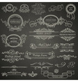 set design elements vector image vector image