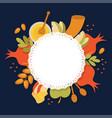 symbols of jewish holiday rosh hashana new year vector image vector image