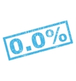 00 Percent Rubber Stamp vector image vector image