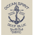 deep blue ocean spirit yacht club