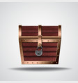 opening treasure box vector image vector image
