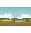 Scenery nature backgrounds game vector image vector image