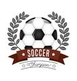sport champion design vector image vector image