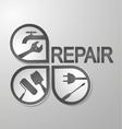 Symbol for repair vector image vector image