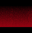 the banner red sequin mosaic or sequin vector image vector image
