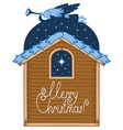 angel with a trumpet and a christmas star vector image