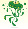 Happy cartoon octopus vector image