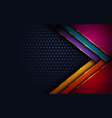 elegant abstract modern colorful background vector image