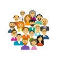 group people background for your design vector image vector image