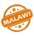 Malawi grunge icon vector image vector image