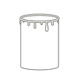 Paint can vector image