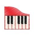 piano music instrument vector image