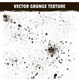 spray splashes isolated grunge texture vector image