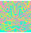Abstract pink blue yellow and lavender moire vector image