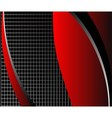 Abstract dark red background with place for text vector image vector image