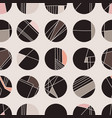 abstract geometric circle grid vector image