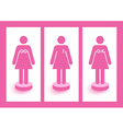 Breast cancer awareness symbols concept EPS10 file vector image vector image