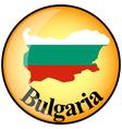 button Bulgaria vector image vector image