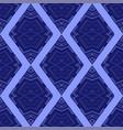 ornamental rhombus seamless pattern vector image