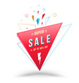 sale banner for promotion advertising vector image vector image