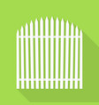 small house barrier icon flat style vector image vector image