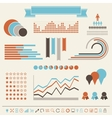 Vintage styled infographics elements vector | Price: 1 Credit (USD $1)