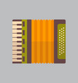 accordion icon oktoberfest festival concept vector image vector image