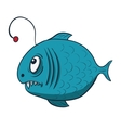 Funny cartoon fish vector image vector image