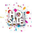 Hot sale paper background vector image vector image