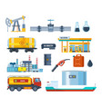 plant equipment for production transportation vector image