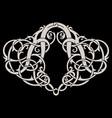 ancient celtic scandinavian design celtic vector image vector image