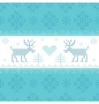 Christmas Scandinavian Card - for invitation vector image