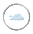 Cloud icon in cartoon style isolated on white vector image vector image
