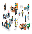 coworking space vector image