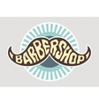 Hairdresser logo vector image