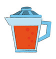 juice jar isolated vector image vector image