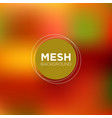 mesh background in peachy red tones vector image vector image