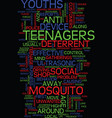 mind control over teenages text background word vector image vector image