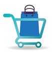 Shopping icon design vector image vector image