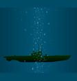 u boat vector image vector image
