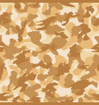 war desert camouflage seamless pattern can be vector image vector image
