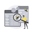 cross-platform testing abstract concept vector image vector image