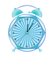 fancy alarm clock vector image