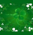 magic clover vector image vector image