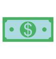 money cash symbol vector image vector image