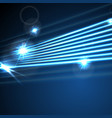neon glowing laser beams lines abstract background vector image