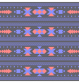 seamless abstract decorative ethnic tribal pattern vector image vector image